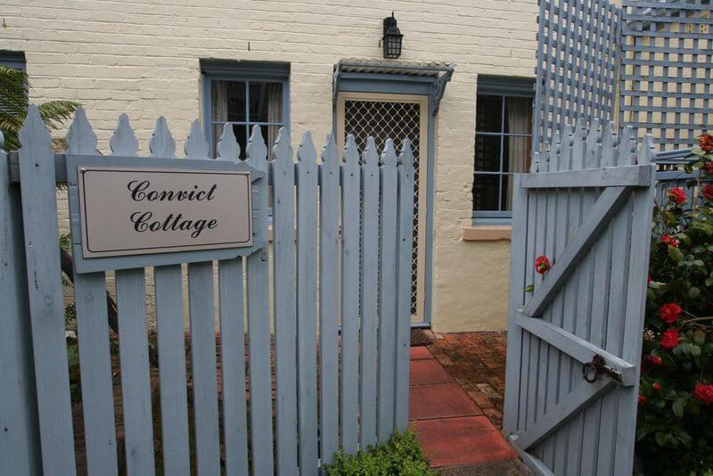Convict Cottage | Convict Cottage | Convict Cottage | The Lodge on Elizabeth Hobart Tasmania Accommodation